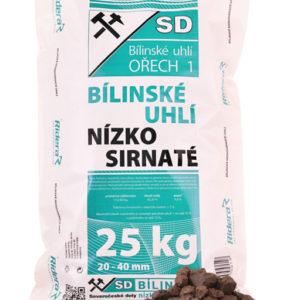 bíliské uhlí ořech