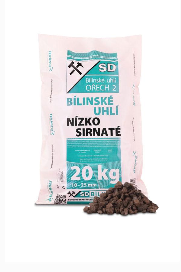 uhlí hnědý ořech 2