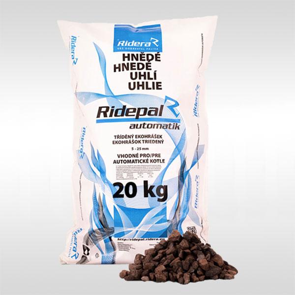 hnědé uhlí ořech 2 pro automatické kotle