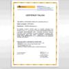 certifikát benekov