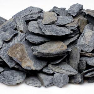 antracitová kamenná kůra