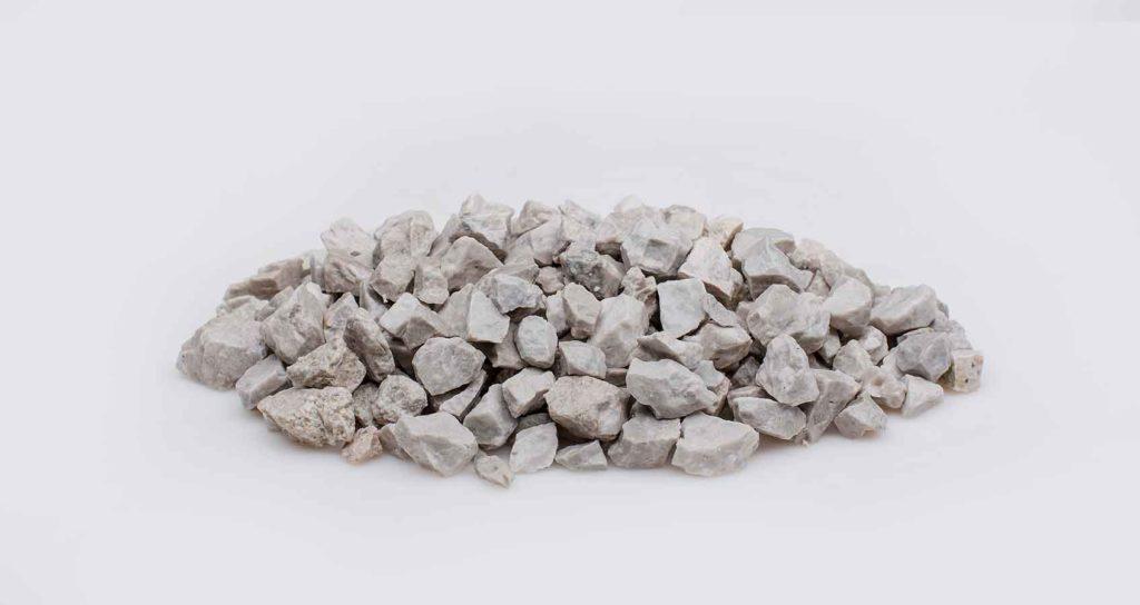 okrasný bílý kámen Dolomit