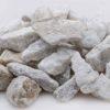 kalcit okrasný bílý kamínek kačírek kámen